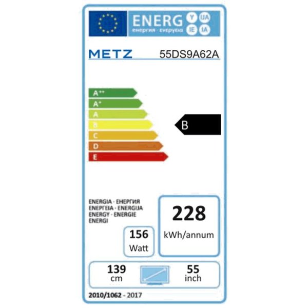 Metz Blue 55DS9A62A 55 Zoll Ultra HD OLED-Technologie