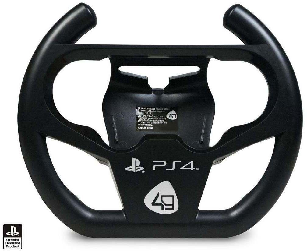 4gamers compact racing wheel 4g 4280 ps4 test. Black Bedroom Furniture Sets. Home Design Ideas