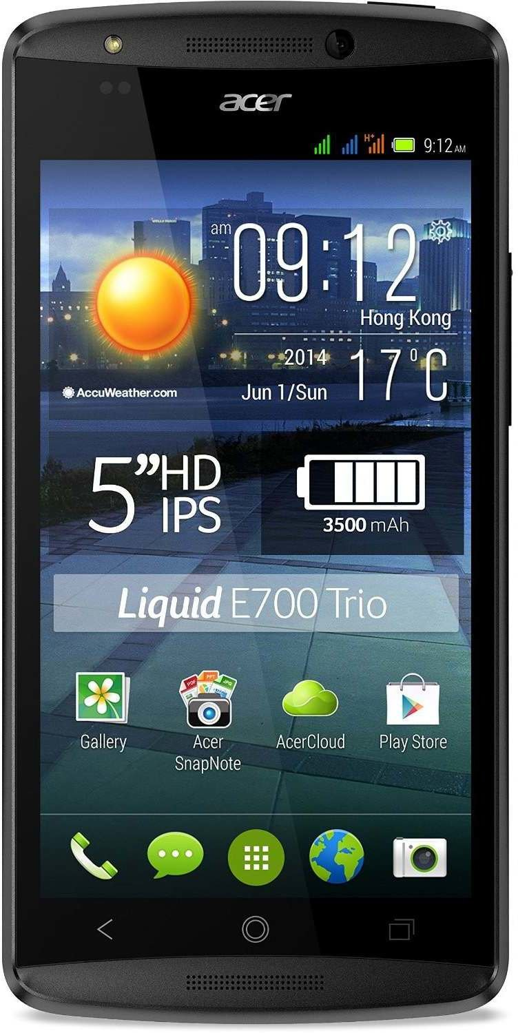 acer liquid e700 triple sim test smartphone. Black Bedroom Furniture Sets. Home Design Ideas