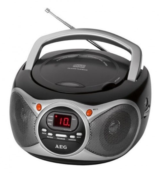 aeg sr 4351 cd test kassetten cd radio. Black Bedroom Furniture Sets. Home Design Ideas