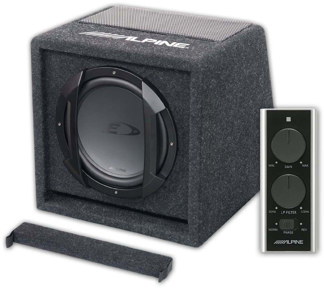 alpine swe 815 test auto subwoofer