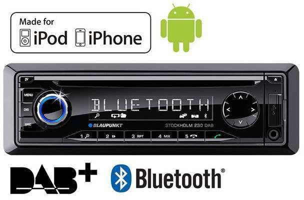 blaupunkt stockholm 230 dab test autoradio. Black Bedroom Furniture Sets. Home Design Ideas