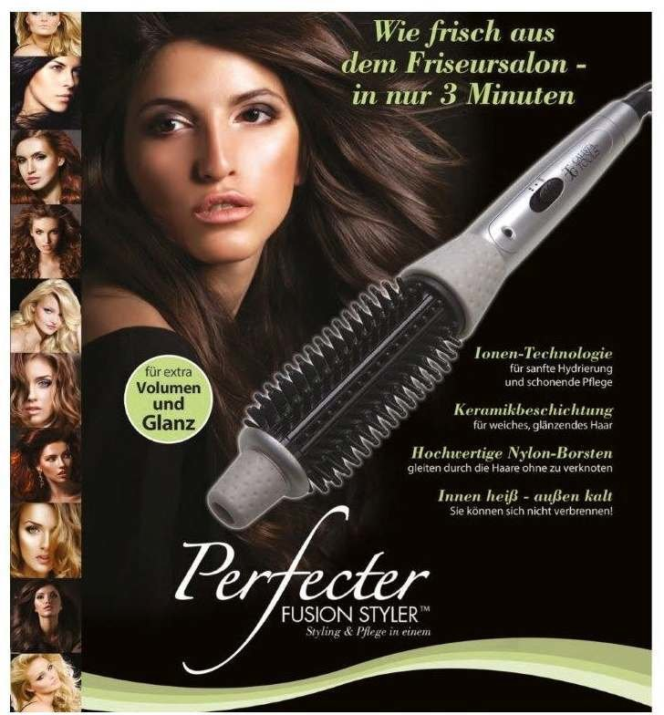 Calista Tools Perfecter Fusion Styler Test