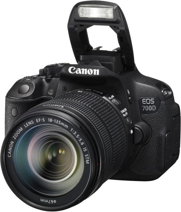 Canon EOS 700D Kit EF-S 18-135mm IS STM EF + 40mm STM ...