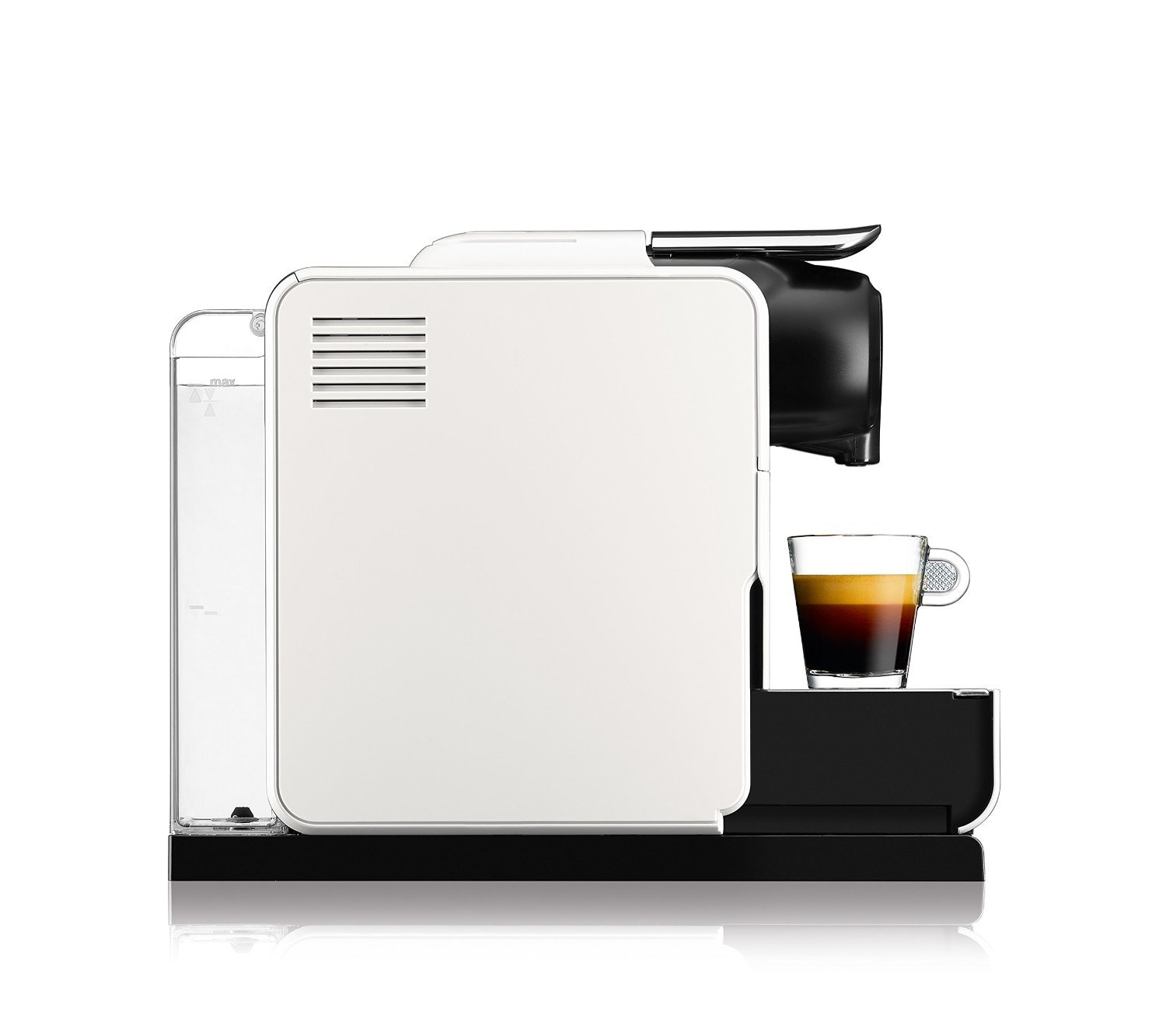 delonghi en550 w nespresso lattissima touch test kaffeekapselmaschine. Black Bedroom Furniture Sets. Home Design Ideas