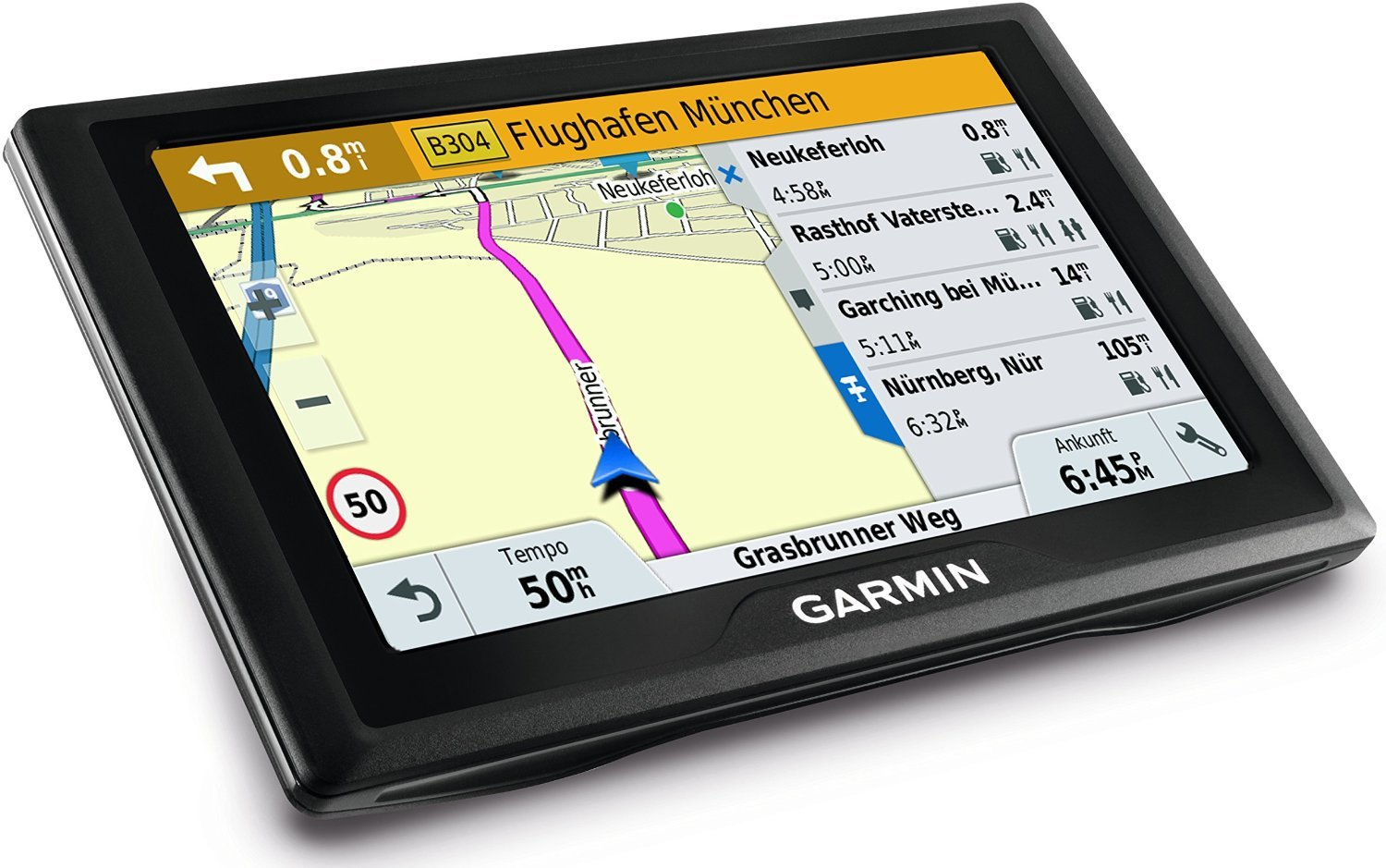garmin drive 50 lmt eu test navigationssystem. Black Bedroom Furniture Sets. Home Design Ideas