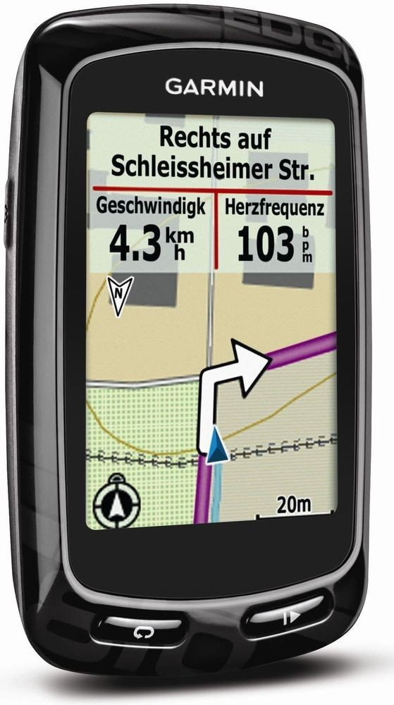 garmin gps radcomputer edge 810 test gps ger t. Black Bedroom Furniture Sets. Home Design Ideas