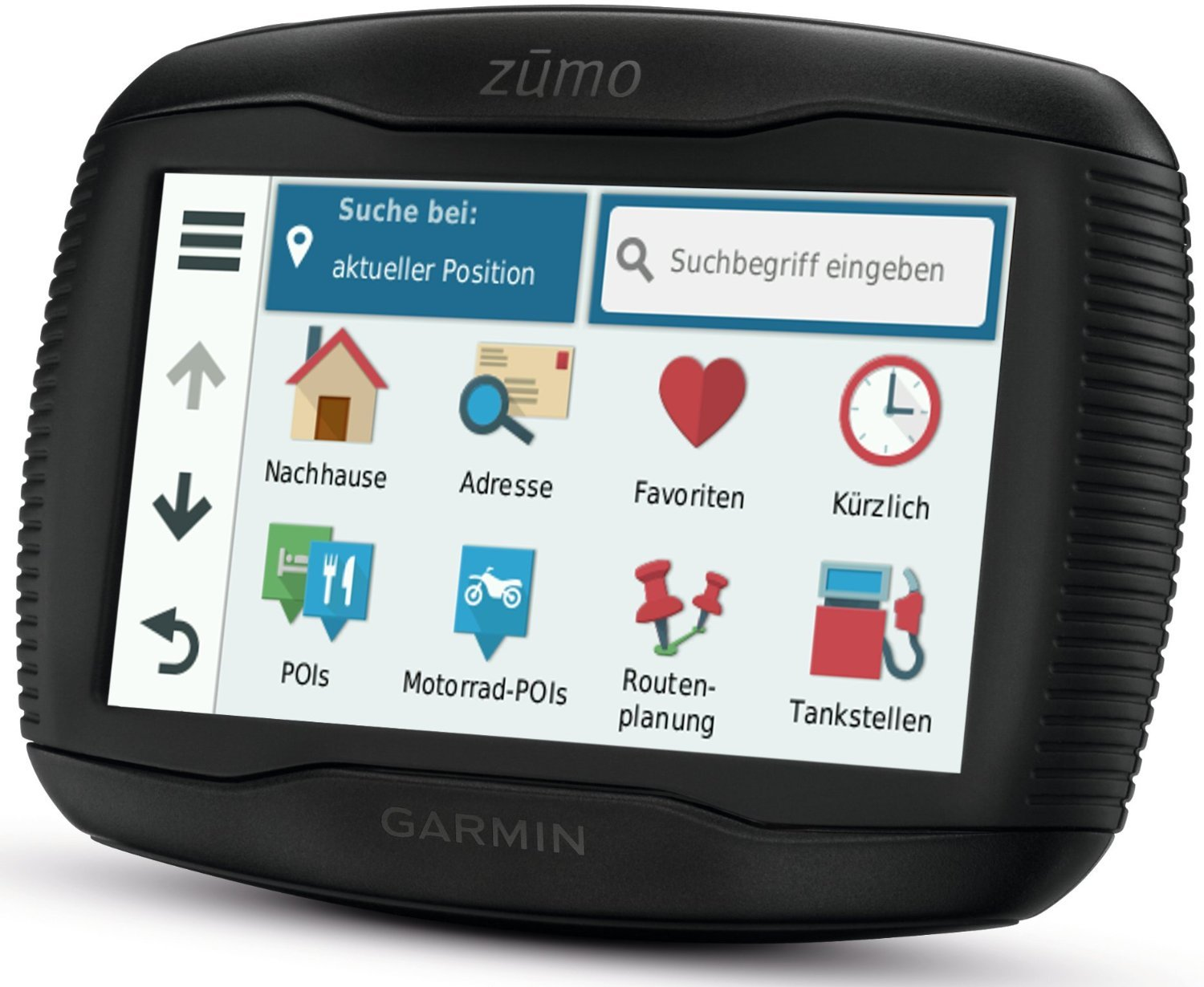garmin zumo 395lm test navigationssystem. Black Bedroom Furniture Sets. Home Design Ideas