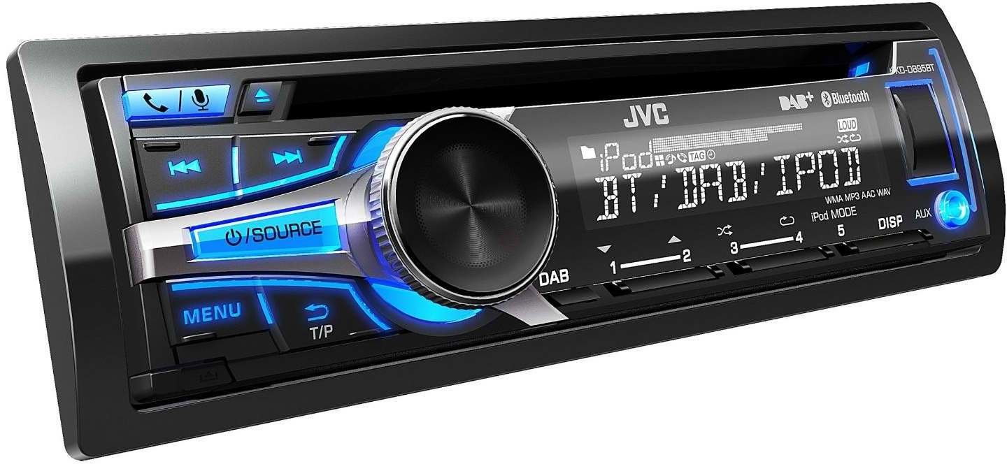 jvc kd db95bt test autoradio. Black Bedroom Furniture Sets. Home Design Ideas