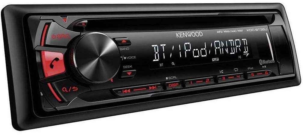 kenwood kdc bt35u test autoradio. Black Bedroom Furniture Sets. Home Design Ideas