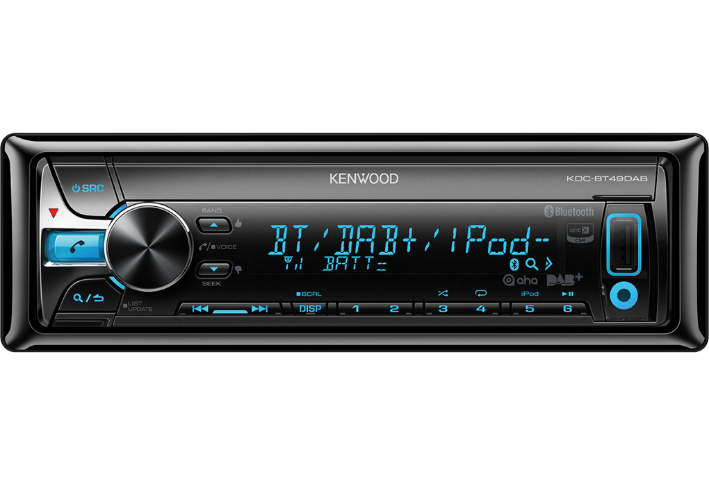 kenwood kdc bt49dab test autoradio. Black Bedroom Furniture Sets. Home Design Ideas