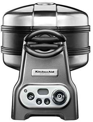 kitchenaid 5kwb110ems test waffeleisen. Black Bedroom Furniture Sets. Home Design Ideas