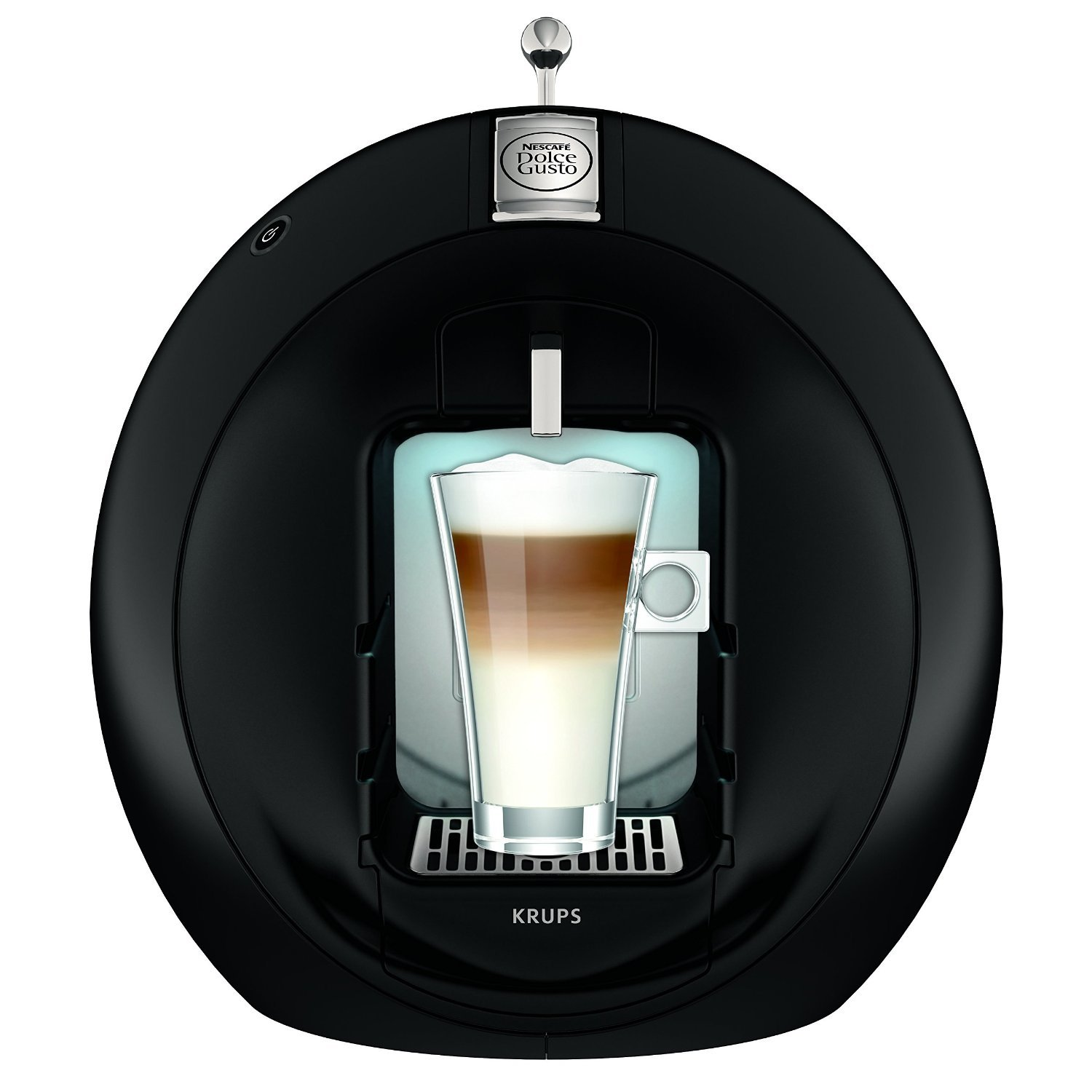 krups kp 5010 yy2003fd dolce gusto circolo black test. Black Bedroom Furniture Sets. Home Design Ideas