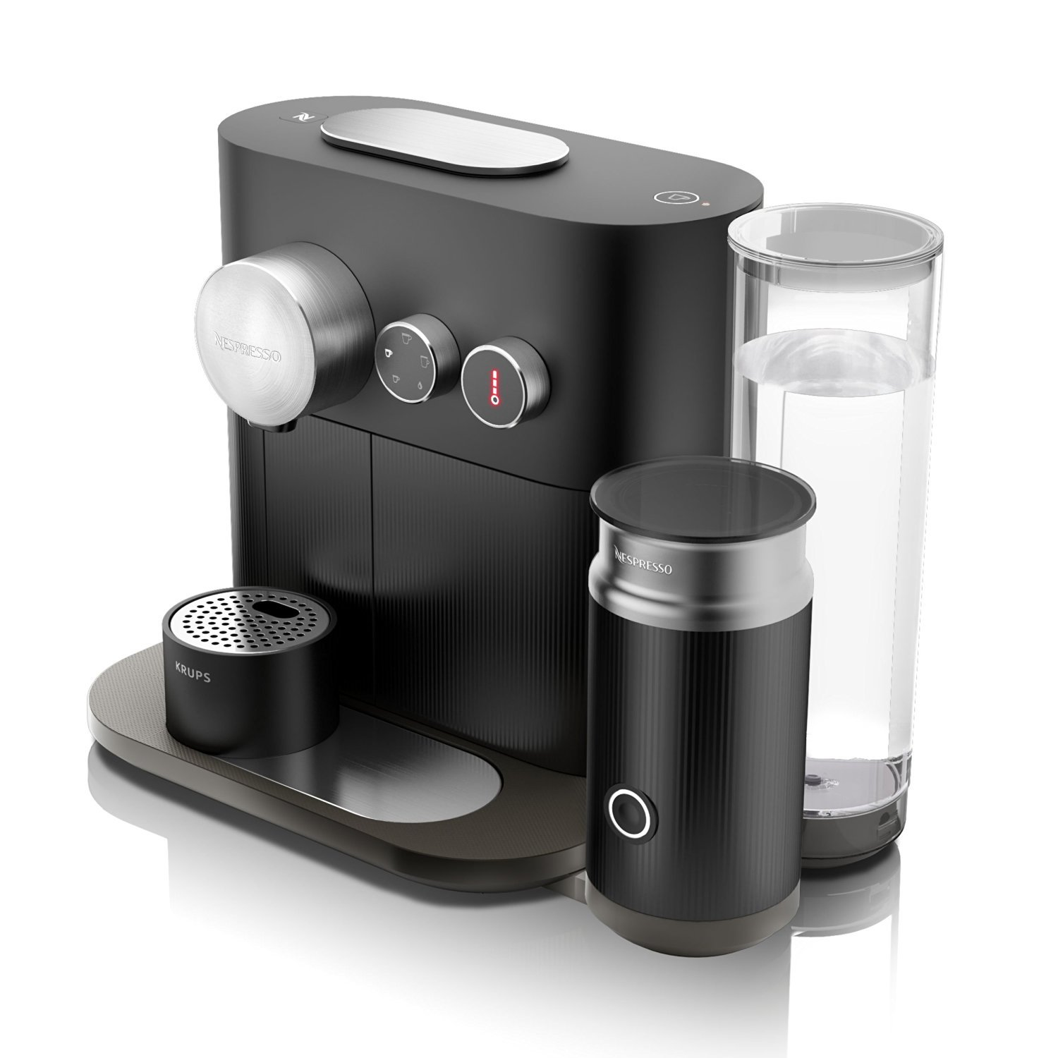 krups xn6018 nespresso expert milk test kaffeekapselmaschine. Black Bedroom Furniture Sets. Home Design Ideas