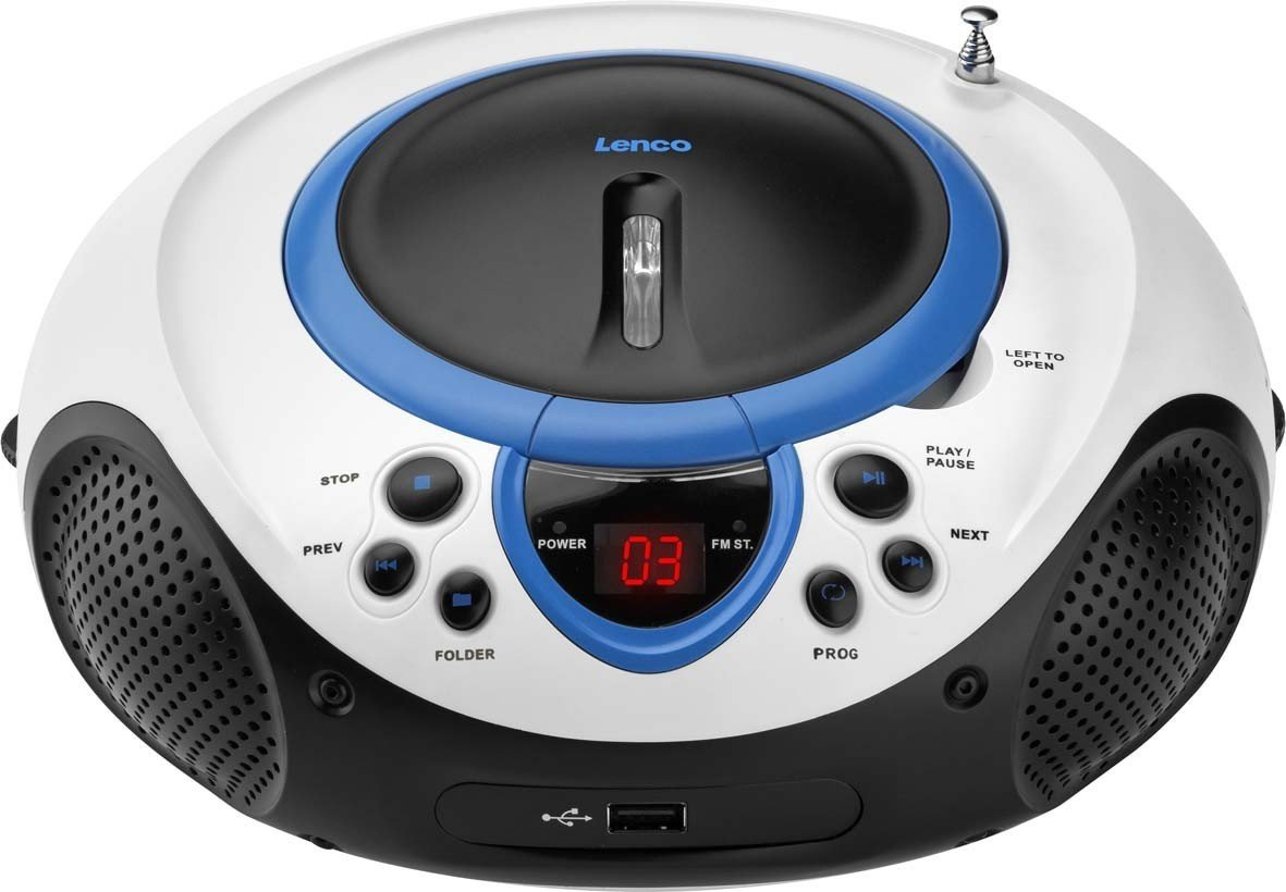 lenco scd 38 usb blau test kassetten cd radio. Black Bedroom Furniture Sets. Home Design Ideas