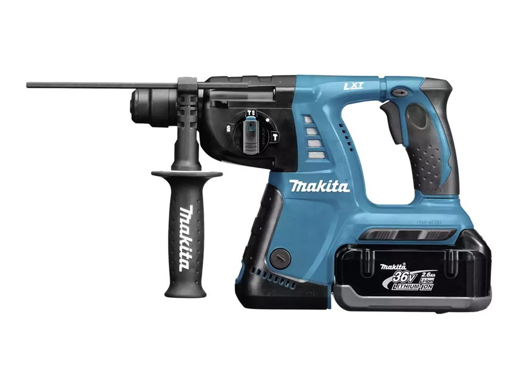 makita bhr243rmj 2 x 4 0 ah im macpak test bohrhammer. Black Bedroom Furniture Sets. Home Design Ideas