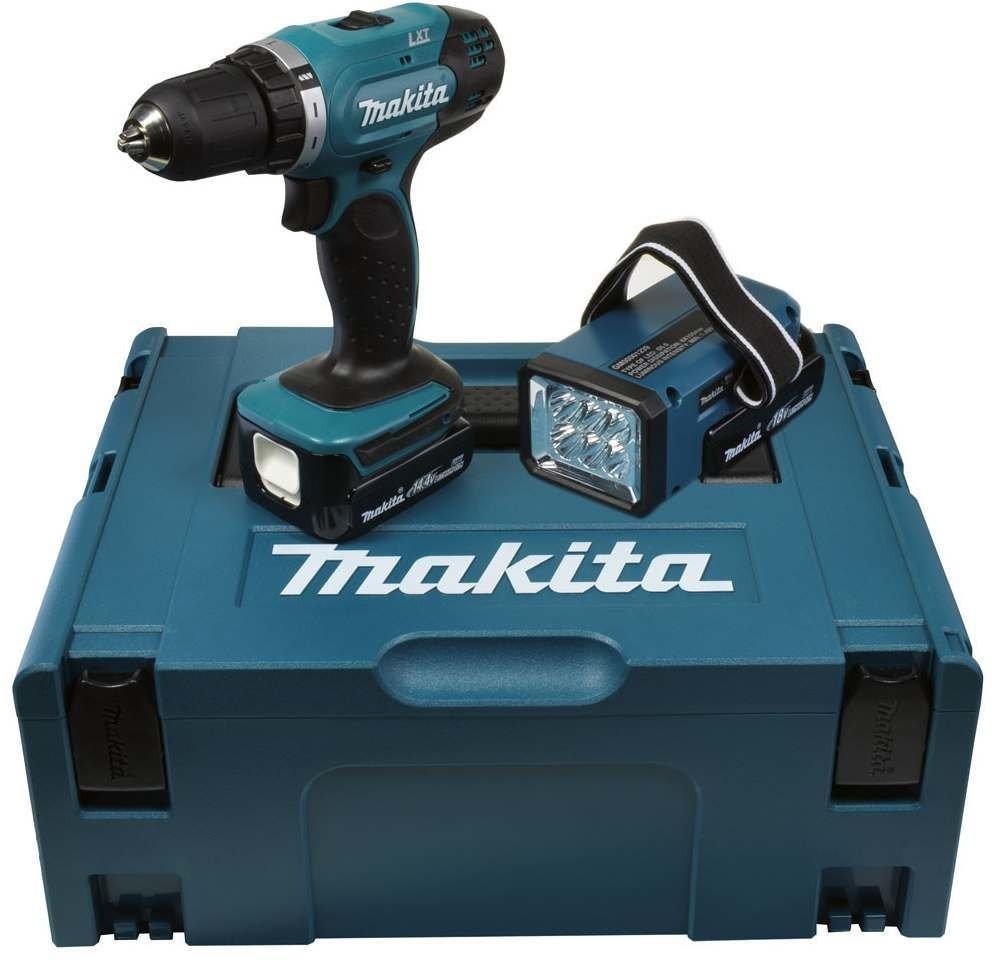 makita ddf343rylj 2 x 1 5 ah im koffer test akkuschrauber. Black Bedroom Furniture Sets. Home Design Ideas