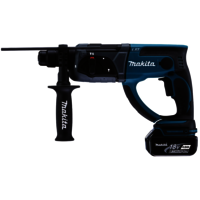 makita dhr202rmj 2 x 4 0 ah test bohrhammer. Black Bedroom Furniture Sets. Home Design Ideas