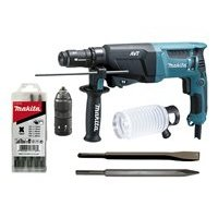 makita hr2611ft13 test bohrhammer. Black Bedroom Furniture Sets. Home Design Ideas