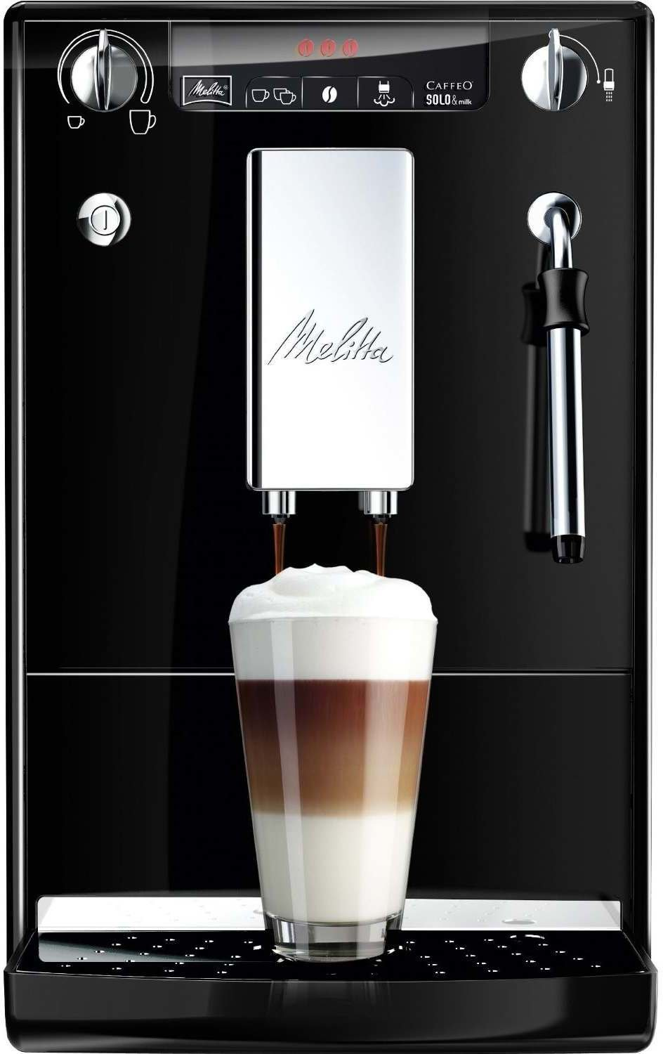 melitta e 953 101 caffeo solo milk kaffeevollautomat im test auf. Black Bedroom Furniture Sets. Home Design Ideas