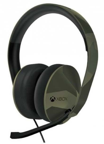 microsoft xbox one armed forces stereo headset test. Black Bedroom Furniture Sets. Home Design Ideas