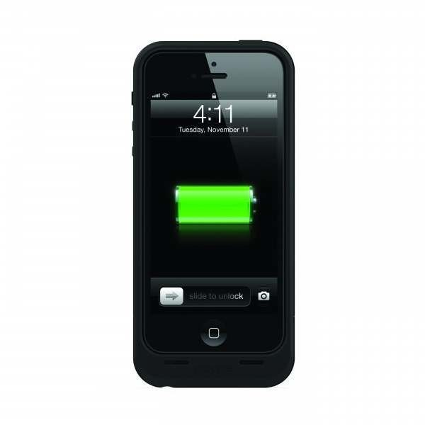 mophie juice pack air f r iphone 5 5s schwarz test handy akku. Black Bedroom Furniture Sets. Home Design Ideas
