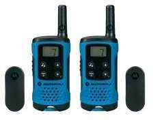 motorola tlkr t41 blau test walkie talkie. Black Bedroom Furniture Sets. Home Design Ideas