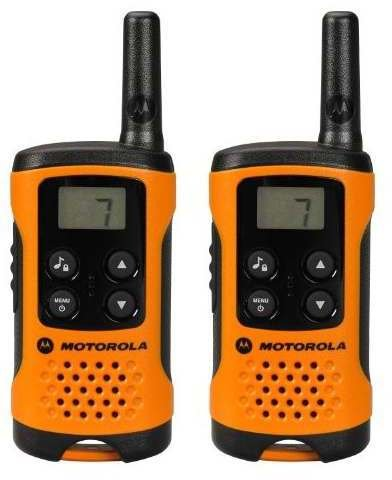 motorola tlkr t41 orange test walkie talkie. Black Bedroom Furniture Sets. Home Design Ideas