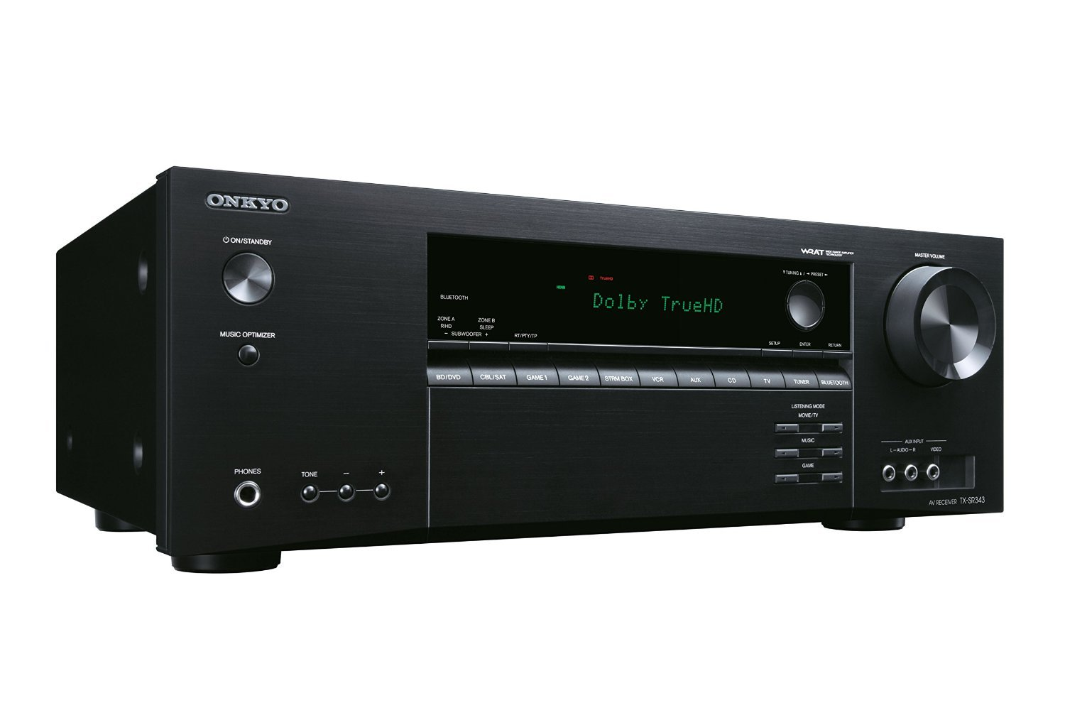onkyo tx sr343 av receiver test 2017 auf. Black Bedroom Furniture Sets. Home Design Ideas