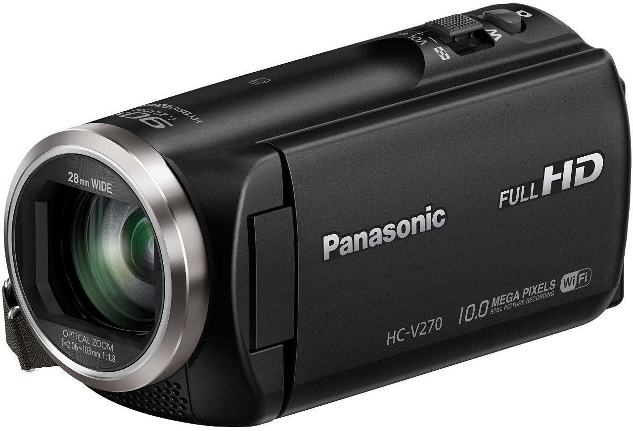 panasonic hc v270 test hd camcorder. Black Bedroom Furniture Sets. Home Design Ideas
