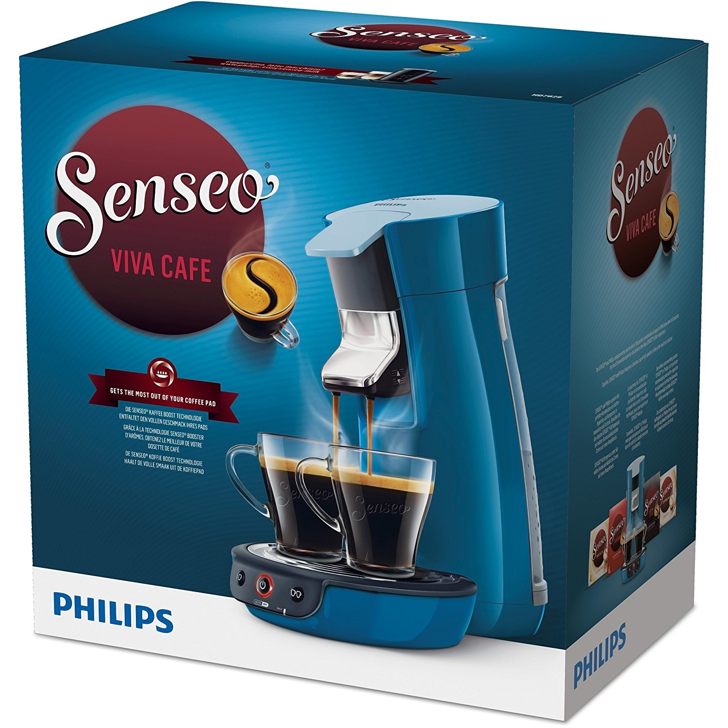 philips hd 7829 70 senseo viva caf test kaffeepadmaschine. Black Bedroom Furniture Sets. Home Design Ideas