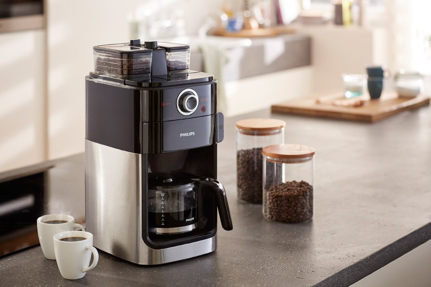 philips hd7766 00 grind brew test filterkaffeemaschine. Black Bedroom Furniture Sets. Home Design Ideas