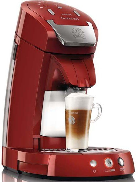 philips hd7854 80 senseo latte select red test kaffeepadmaschine. Black Bedroom Furniture Sets. Home Design Ideas
