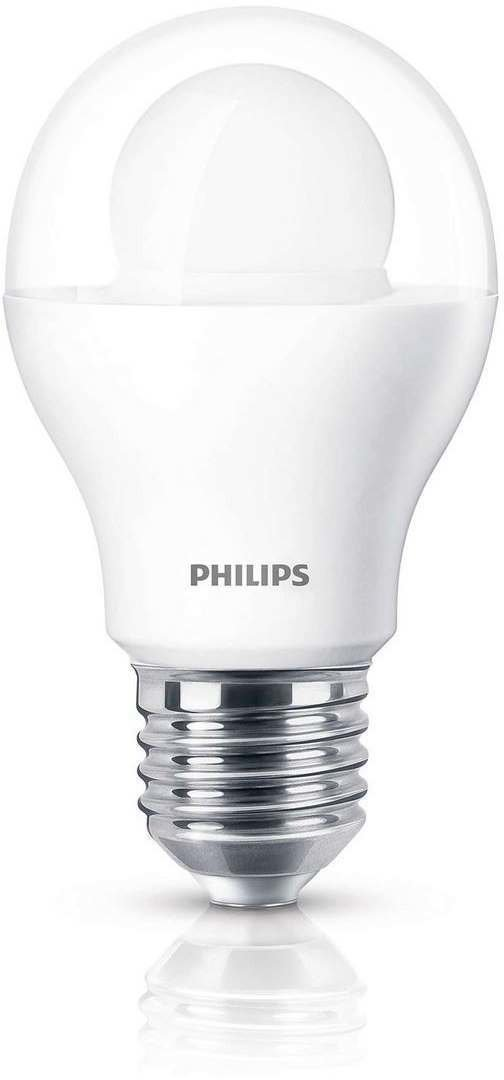 philips led 8w e27 warmwei 19304300 test leuchtmittel. Black Bedroom Furniture Sets. Home Design Ideas