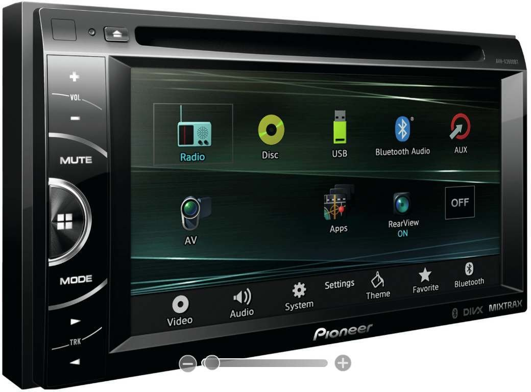 pioneer avh x2600bt test autoradio endstufe. Black Bedroom Furniture Sets. Home Design Ideas