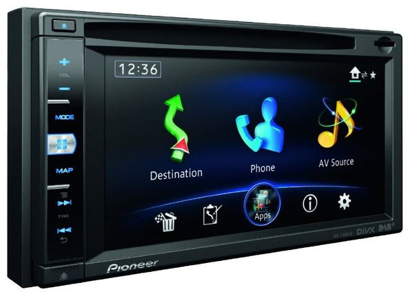 pioneer avic f950dab test navigationssystem. Black Bedroom Furniture Sets. Home Design Ideas