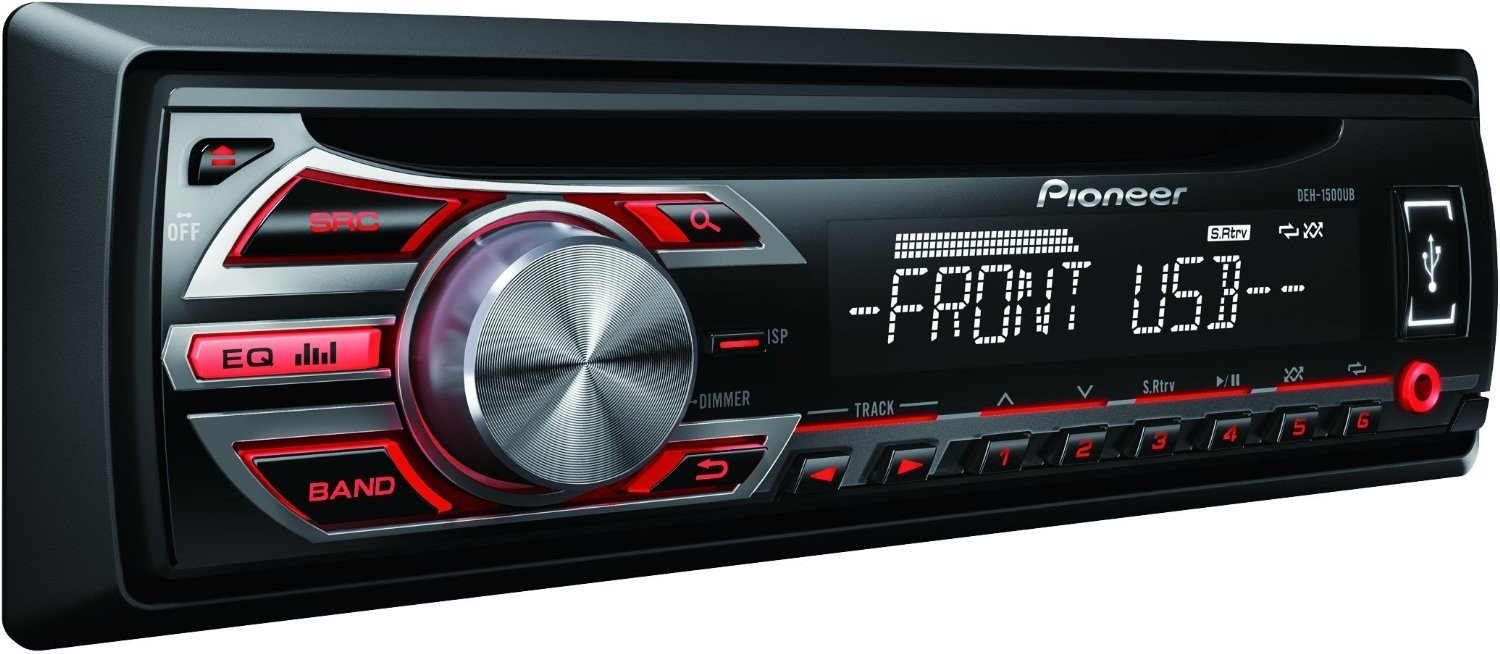 pioneer deh 1500ub test autoradio. Black Bedroom Furniture Sets. Home Design Ideas