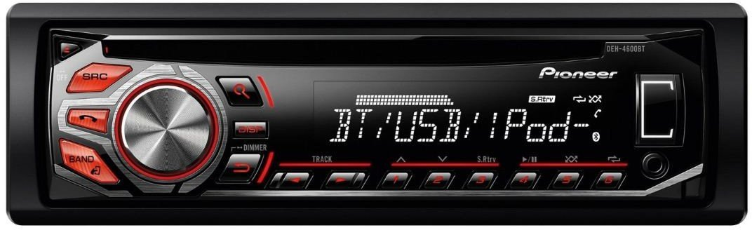 pioneer deh 4600bt test autoradio. Black Bedroom Furniture Sets. Home Design Ideas