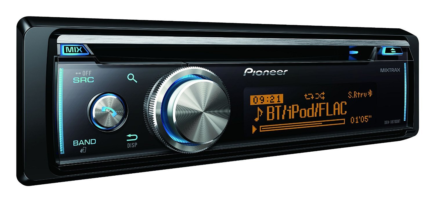 pioneer deh x8700bt test autoradio. Black Bedroom Furniture Sets. Home Design Ideas