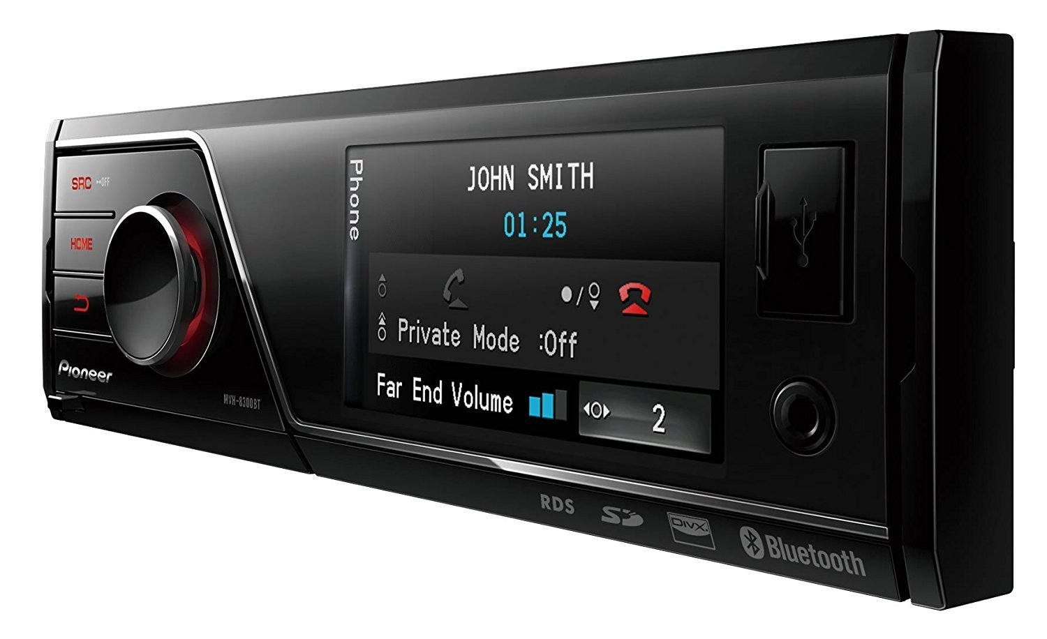 pioneer mvh 8300bt test autoradio. Black Bedroom Furniture Sets. Home Design Ideas