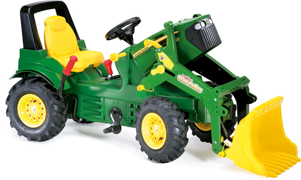 rolly toys farmtrac john deere traktor 7930. Black Bedroom Furniture Sets. Home Design Ideas