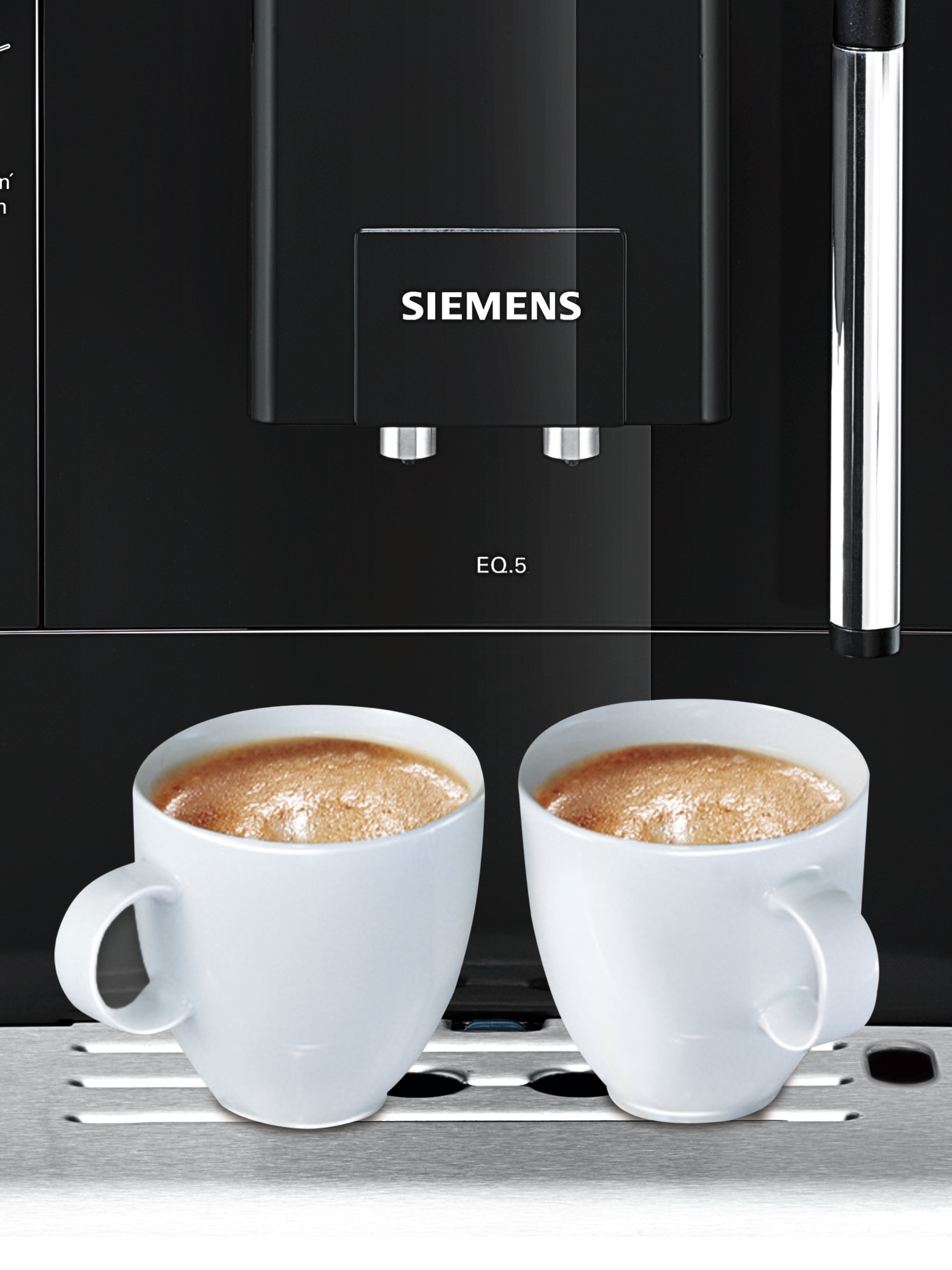 siemens te501505de eq 5 kaffeevollautomat im test auf. Black Bedroom Furniture Sets. Home Design Ideas