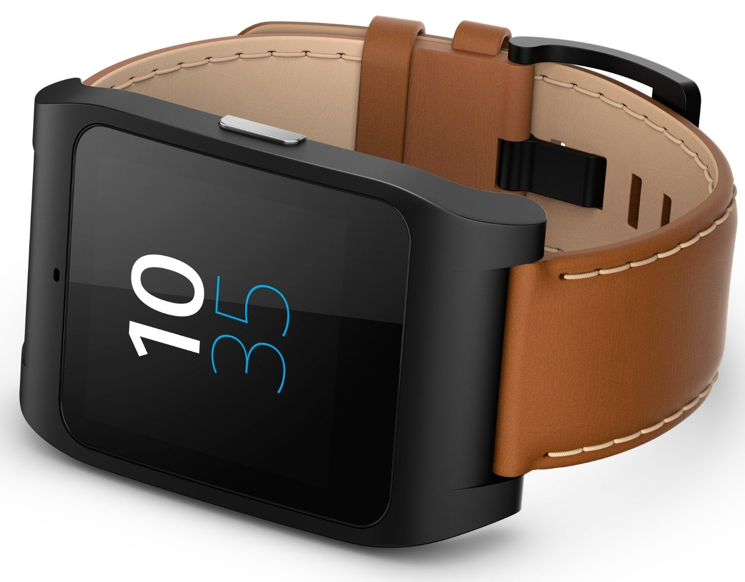 sony smartwatch 3 leder braun test smartwatch. Black Bedroom Furniture Sets. Home Design Ideas