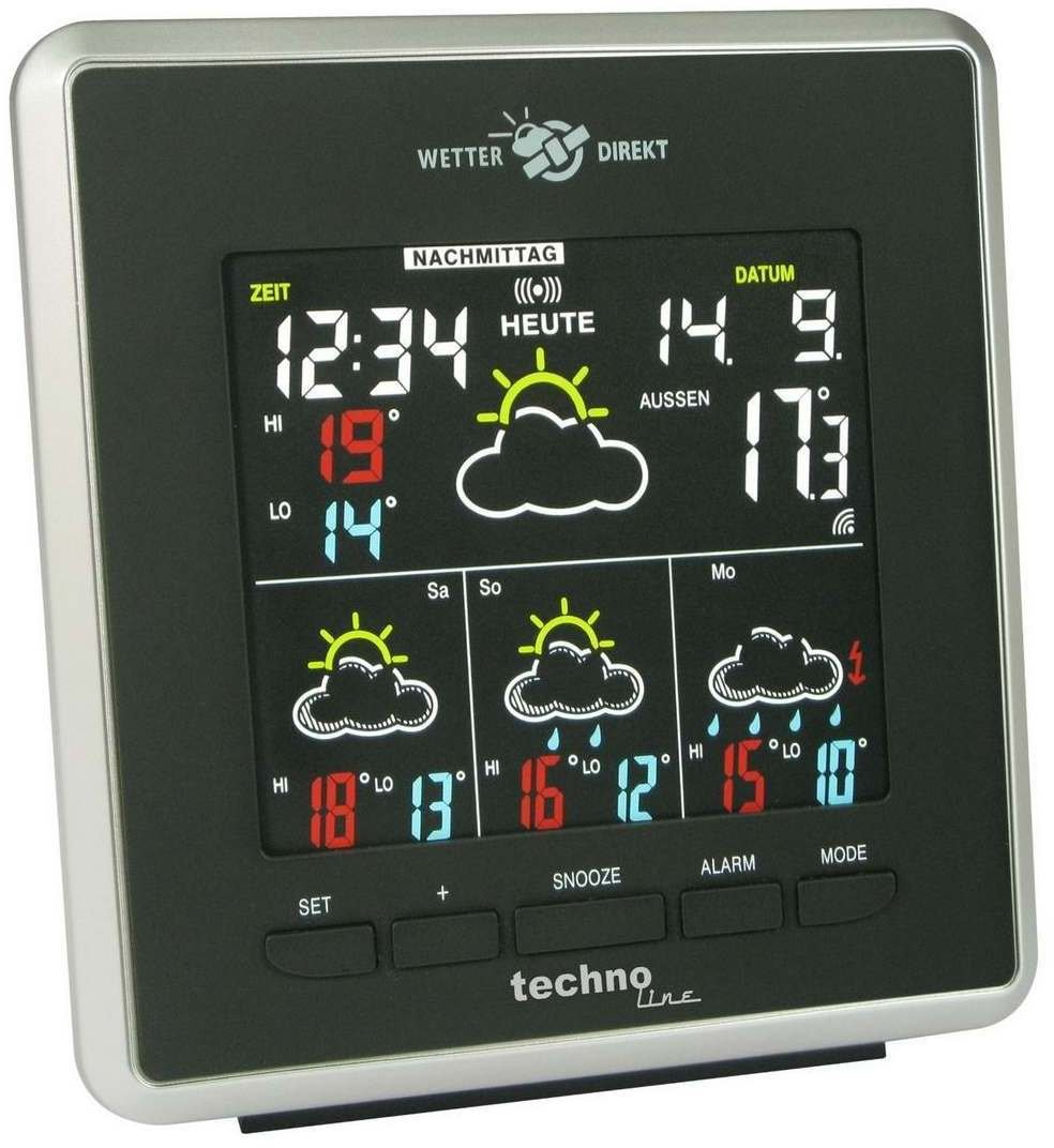 technoline wd 4026 test wetterstation. Black Bedroom Furniture Sets. Home Design Ideas