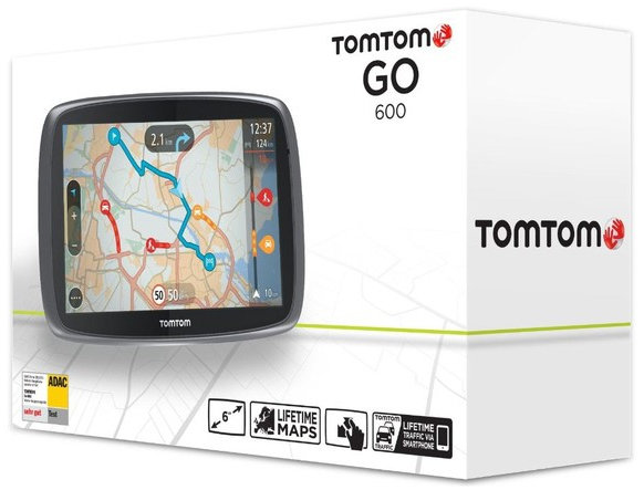 tomtom go 600 eu test navigationssystem. Black Bedroom Furniture Sets. Home Design Ideas