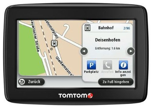 tomtom start 25 m central europe traffic test. Black Bedroom Furniture Sets. Home Design Ideas