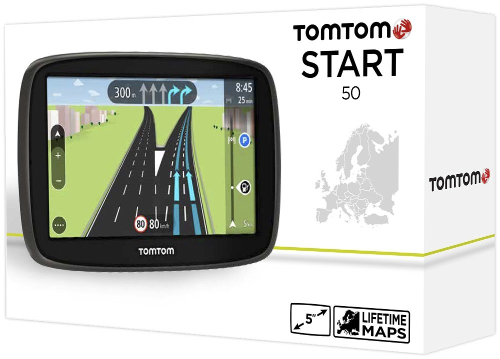 tomtom start 50 ce test navigationssystem. Black Bedroom Furniture Sets. Home Design Ideas