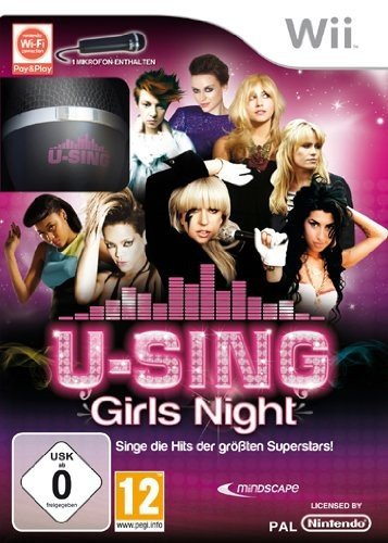 Wii U Games For Girls : U sing girls night inkl mikro wii test nintendo