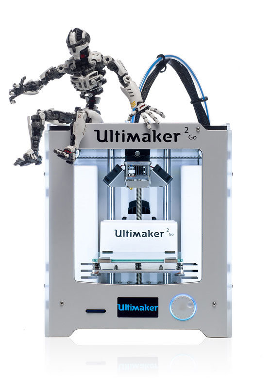 ultimaker 2 go test 3d drucker. Black Bedroom Furniture Sets. Home Design Ideas