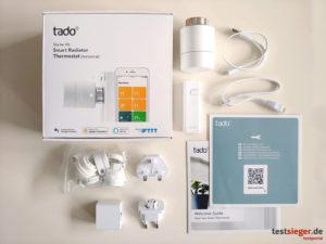 tado° Das Smarte Heizkörper-Thermostat Starter-Kit V3+